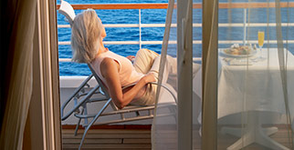 Get up to 10,000 miles on an all-inclusive Crystal luxury cruise